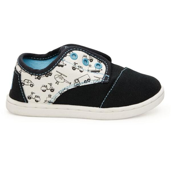 Toms Paseo Canvas Transportation Casual Shoes