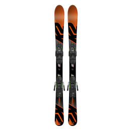 K2 Boy's Indy All Mountain Skis W/ Noodle Fastrak2 System 4.5 '18