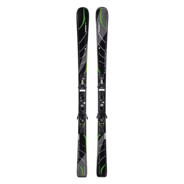 Elan Men's Amphibio 78Ti All Mountain Skis with ELX 11.0 Black/Green Bindings '15