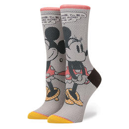 Stance Women's Tick Tock Minnie Socks