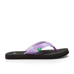 Sanuk Girl's Yoga Glitter Sandals (Little Kids/Big Kids)