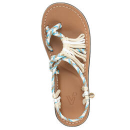Vines Islandwear Women's Seas The Day X Flat Sandals