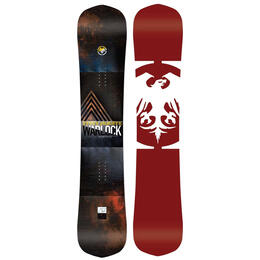 Never Summer Men's Warlock Freestyle Twin Snowboard '19