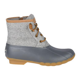 Sperry Women's Saltwater Embossed Wool Rain Boots
