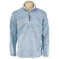 True Grit Men's Frosty Tip Pile 1/4 Zip Pul