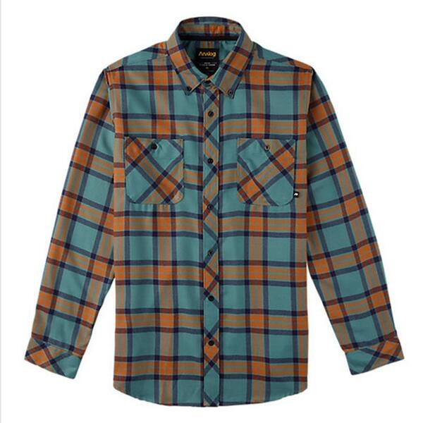 Analog Men's Balance Longsleeve Flannel
