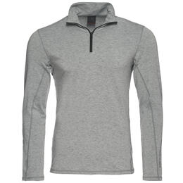Bogner Fire + Ice Men's Flint T-Neck Grey Baselayer