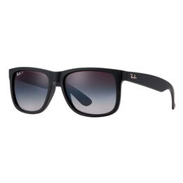 Ray-Ban Justin Classic Sunglasses With Grey Polarized Lenses