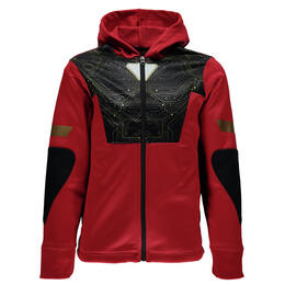 Spyder Boy's Marvel Riot Full Zip Fleece Hoodie