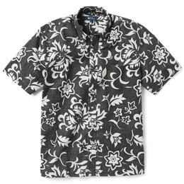 Reyn Spooner Men's Pareau Royale Button Front Shirt