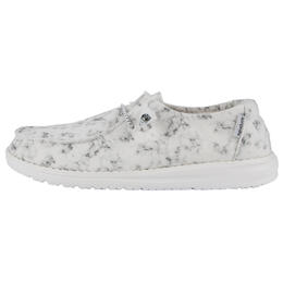 Hey Dude Women's Wendy Print Marble Shoes