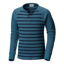 Columbia Boy's Trulli Trails Henley Long Sleeve Shirt