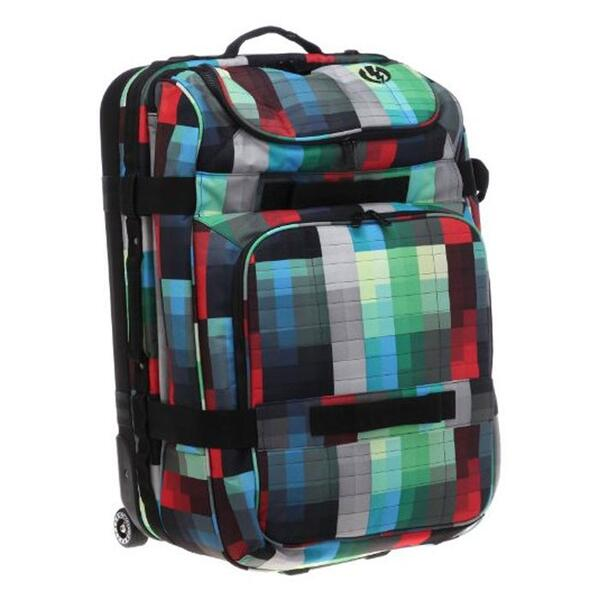 Electric Big Block Roller Wheeled Carry-on