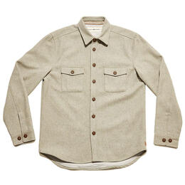 The Normal Brand Men's Senior Wool Button Up Shirt Jacket