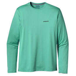 Patagonia Men's Graphic Tech Fish Long Sleeve T Shirt