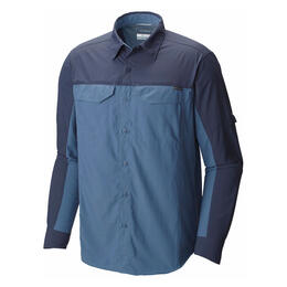 Columbia Men's Silver Ridge Blocked Long Sleeve Shirt