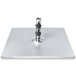 Frankford 90 lb. Galvanized Square Steel Plate Base