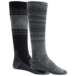 Burton Men's Performance Lightweight Snowboard Socks 2 Pack