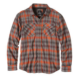 Prana Men's Asylum Long Sleeve Flannel Shirt