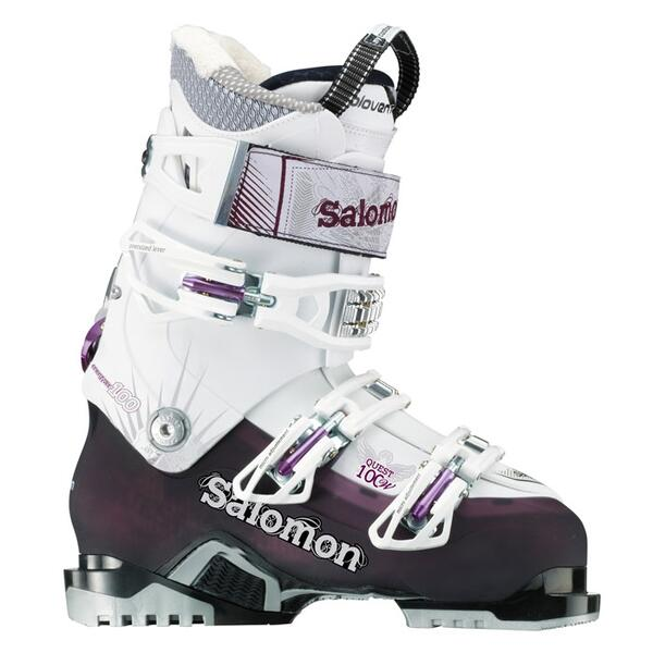 Salomon Women's Quest 100W All Mountain Performance Ski Boots '13