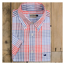 Southern Marsh Men's Everett Gingham Short Sleeve Shirt