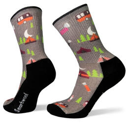 Smartwool Women's Light Summer Night Print Hiking Socks