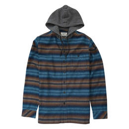 Billabong Men's Baja Flannel Hoodie