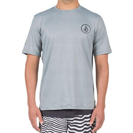 Volcom Men's Distortion Short Sleeve Rashguard
