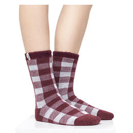 Ugg Women's Vanna Check Fleece Socks