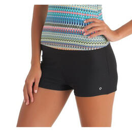 Next By Athena Women's Good Karma Jump-Start Swim Shorts