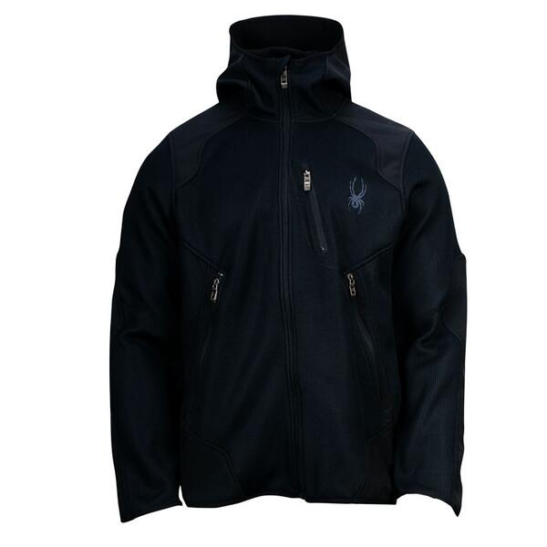 Spyder Men's Stated Softshell Hybrid Light Weight Core Sweater