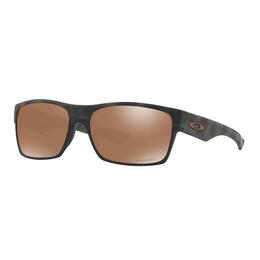 Oakley Men's Two Face Sunglasses with PRIZM Tungsten Lenses