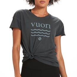Vuori Women's Wave Logo T-shirt