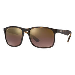 Ray-Ban RB4264 Sunglasses With Purple Mirror Chromance Lenses