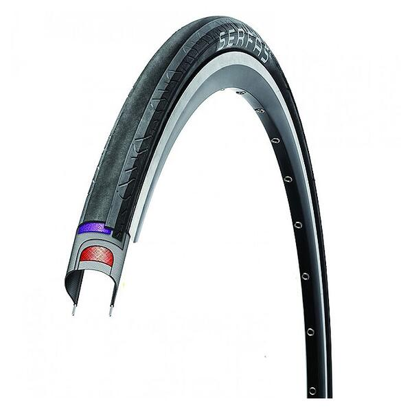 Serfas Seca Survivor Folding 700x25c Road Bike Tire