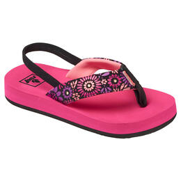 Reef Girl's Little Ahi Lights Sandals