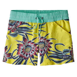 Patagonia Girl's Cereus Flower Costa Rica Baggies Shorts 3