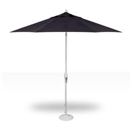 Treasure Garden 9' Auto Tilt Umbrella - White with Navy