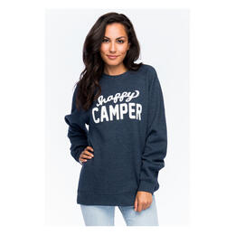 Sub_Urban Riot Women's Happy Camper Crew Ne