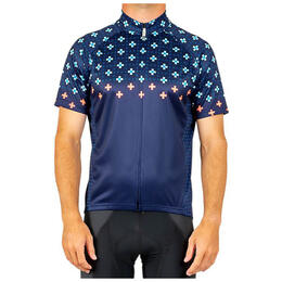 Canari Men's Century Cross Dots Cycling Jersey