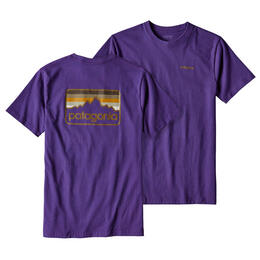 Patagonia Men's Line Logo Badge Short Sleeve T-Shirt