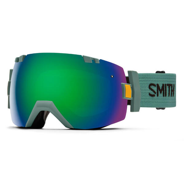Smith I/OX Snow Goggles With Green Sol-X Le