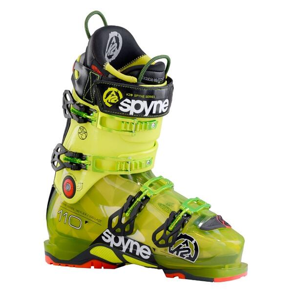 K2 Men's Spyne 110 102mm All Mountain Ski Boots '15