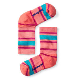 Smartwool Kids' Striped Hike Light Crew Socks