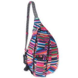 Kavu Women's Mini Rope Sling Jewel Stripe Bag