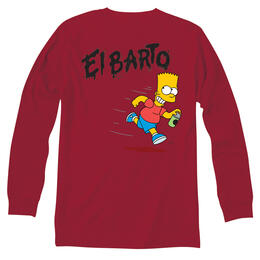 Vans Men's El Barto Long Sleeve T Shirt