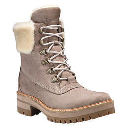 Timberland Women's Courmayeur Valley Grey Nubuck Hiking Boots