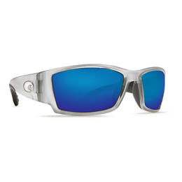 Costa Del Mar Men's Corbina Polarized Sunglasses with Blue Mirror Lens