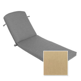 Casual Cushion Corp. Berkshire Chaise Cushion - Canvas Heather Beige