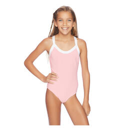 Splendid Girl's Art Deco One Piece Swimsuit